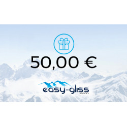 EASY-GLISS GIFT CARD 50€