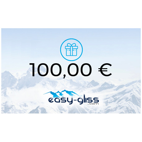 CARTE CADEAU EASY-GLISS 100€