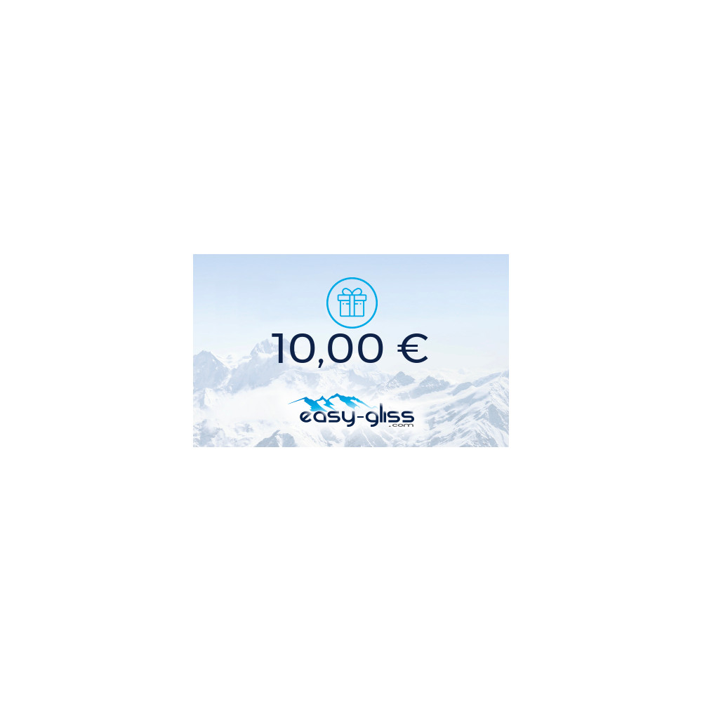 CARTE CADEAU EASY-GLISS 10€