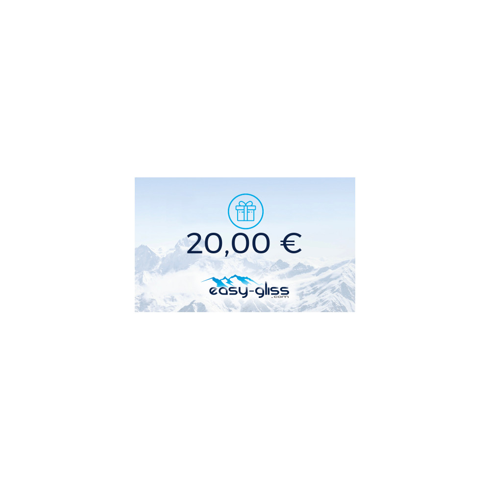 CARTE CADEAU EASY-GLISS 20€