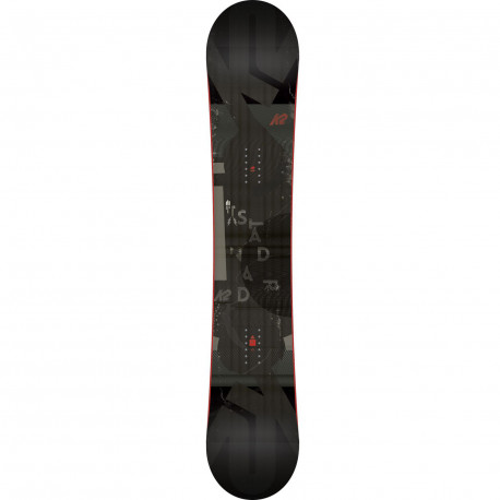 SNOWBOARD STANDARD + FIXATION SONIC BLACK - Taille: L