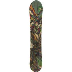 SNOWBOARD XV MAGTEK + FIXATION DE SNOWBOARD HURRITHANE BLACK - Taille: L