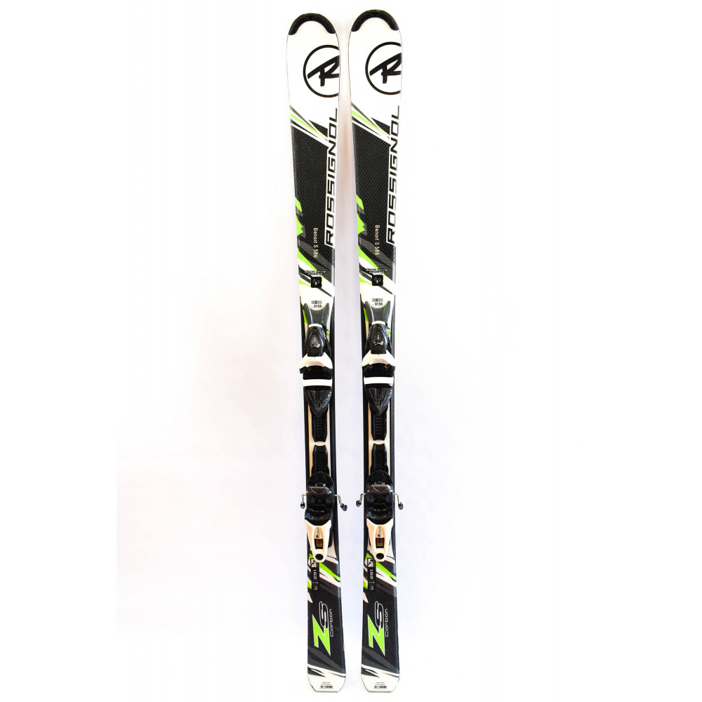 SKI ZS CARBON + FIX AXIUM 110 BLACK WHITE RTL