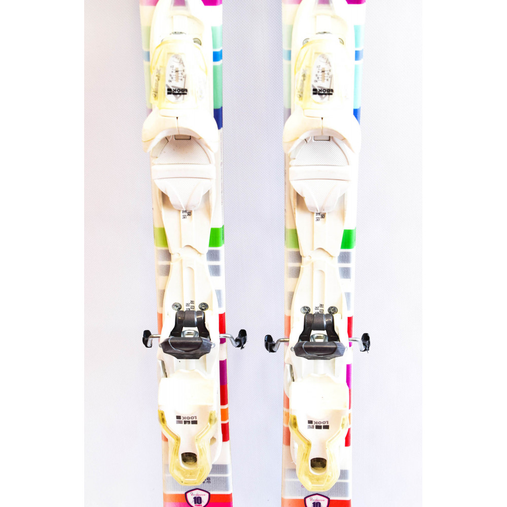SKI EXCLUSIVE LIGHT R + FIX XPRESS 10 WHITE RTL