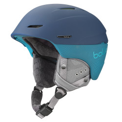 CASQUE DE SKI MILLENIUM SOFT BLUE & GREEN