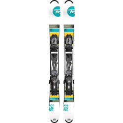 MINI SKI FREE ZB + FIXATIONS XPRESS 10 B83 BLACK/WHITE