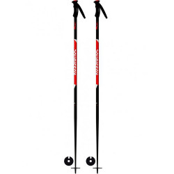 BATONS DE SKI TACTIC BLACK/RED