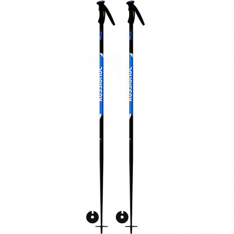 BATONS DE SKI TACTIC BLACK/BLUE