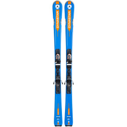 SKI SPEED ZONE 6 + FIX XPRESS 11 B83 BLACK ORANGE
