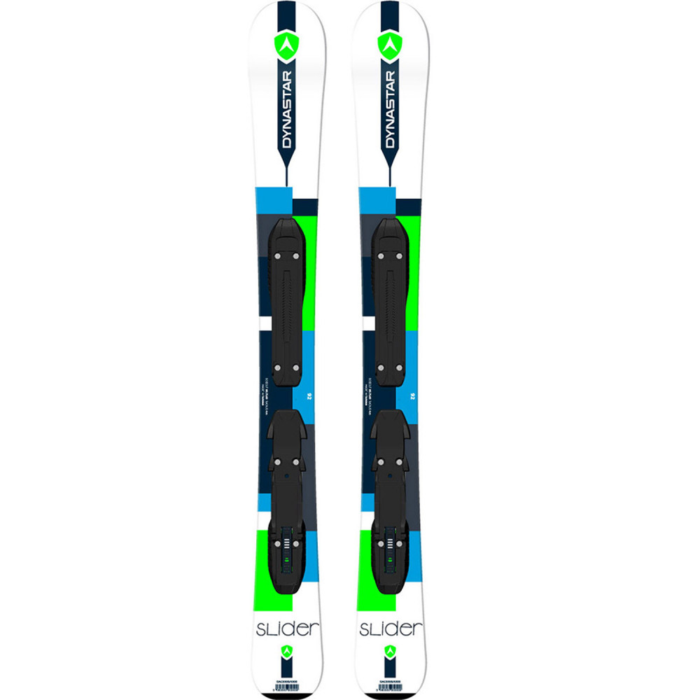 SKI SLIDER BABY + FIXATIONS KID-X 4 B76 BLACK/WHITE