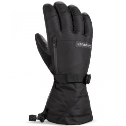 GANTS LEATHER TITAN GLOVE BLACK