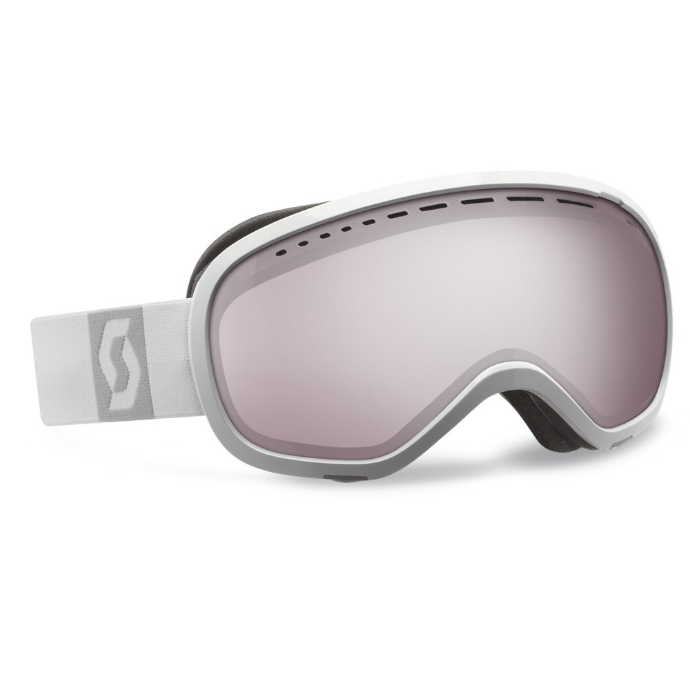 MASQUE DE SKI OFF GRID ACS SILVER CHROME WHITE