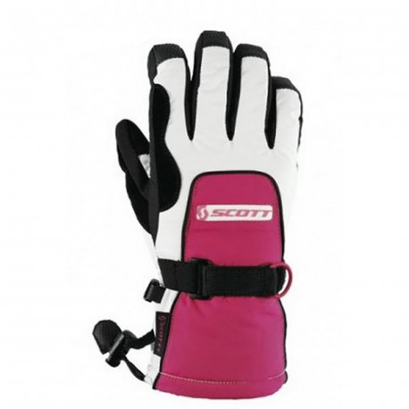GANTS SCOTTIE PINK WHITE