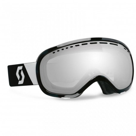 MASQUE DE SKI OFF GRID SILVER CHROME BLACK
