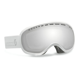 MASQUE DE SKI OFF GRID SILVER CHROME WHITE