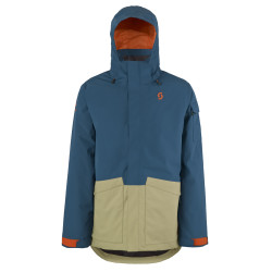 VESTE DE SKI JACKET TERRAIN DRYO PLUS ECLIPSE BLUE SAHARA BEIGE OXFORD