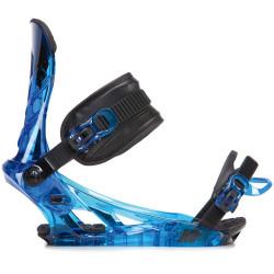 FIXATION DE SNOWBOARD SONIC BLUE