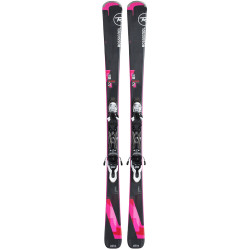 SKI FAMOUS 2 + FIXATIONS LOOK XPRESS W 10 B83 BLACK/NEUTRAL