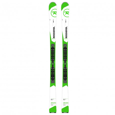 SKIS ZENITH + FIXATIONS LOOK XPRESS 10 B83 BLACK WHITE