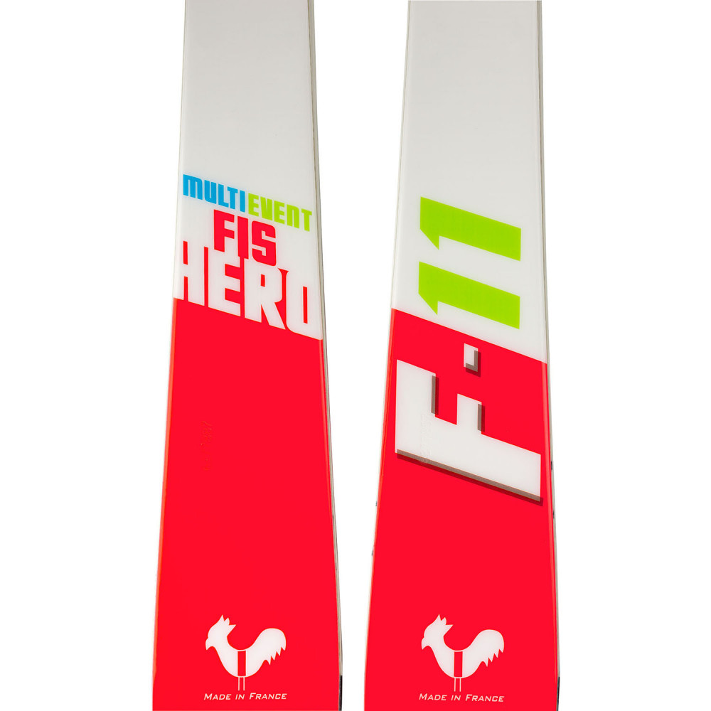 SKI HERO FIS MULTIEVENT OPEN + FIXATIONS NX JR 7 LIFTER B73 WHITE ICON