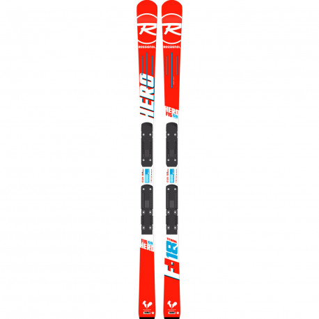 SKI HERO FIS GS PRO (R20 PRO) + FIXATIONS SPX 10 B73 WHITE ICON