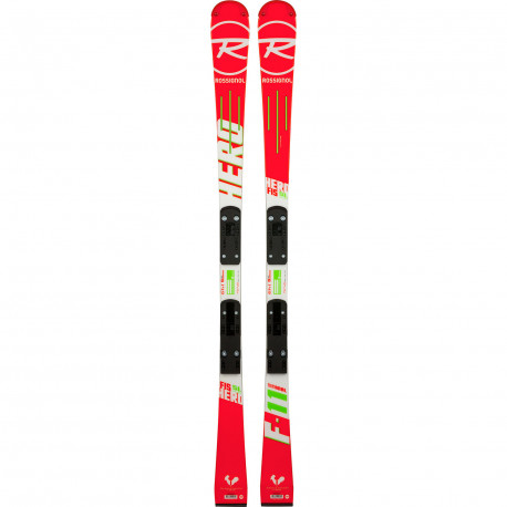 SKI HERO FIS SL PRO (R20 PRO) + FIXATIONS SPX 10 B73 WHITE ICON