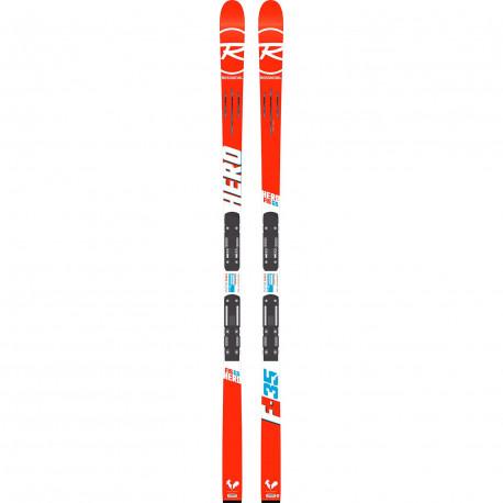 SKI HERO FIS GS (R21 WC) + FIXATIONS SPX 15 ROCKERFLEX WHITE ICON