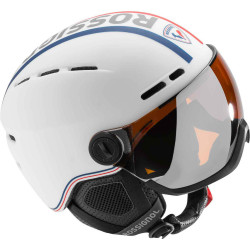 CASQUE DE SKI VISOR SINGLE LENSE WHITE