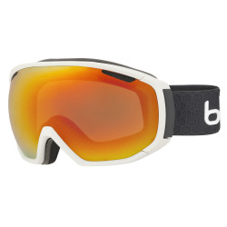 MASQUE DE SKI TSAR MATTE WHITE & GREY SUNRISE