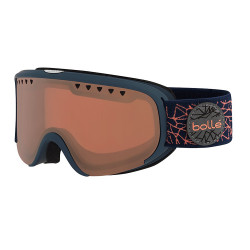 MASQUE DE SKI SCARLETT MATTE NAVY & ROSE DIAMOND VERMILON
