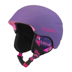 CASQUE DE SKI B-LIEVE SOFT PURPLE SPRAY
