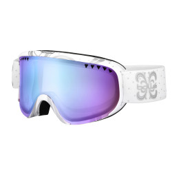 MASQUE DE SKI SCARLETT SHINY WHITE NIGHT AURORA