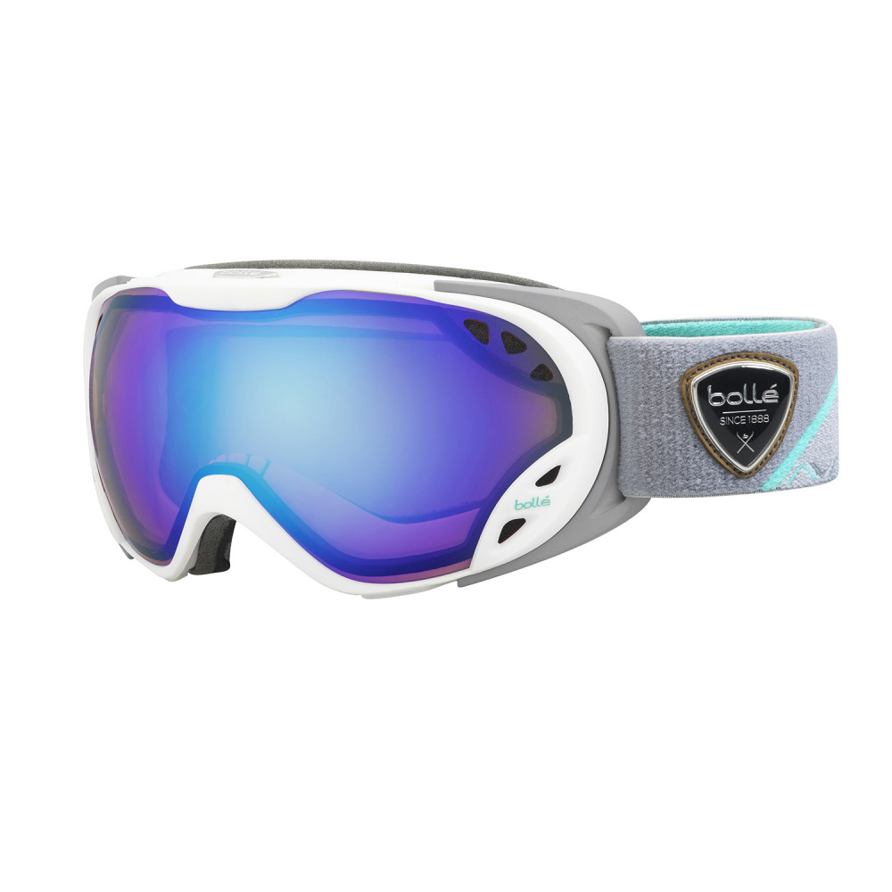 MASQUE DE SKI DUCHESS WHITE GREY