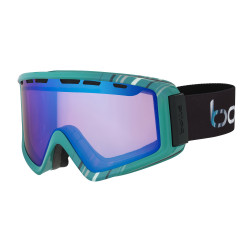 MASQUE DE SKI Z5 SHINY MINT BRILLANT AURORA