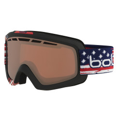 MASQUE DE SKI NOVA II MATTE USA LIMITED EDITION VERMILLON GUN