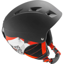 CASQUE DE SKI COMP J BLACK LED