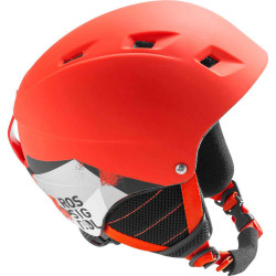 CASQUE DE SKI COMP J RED LED