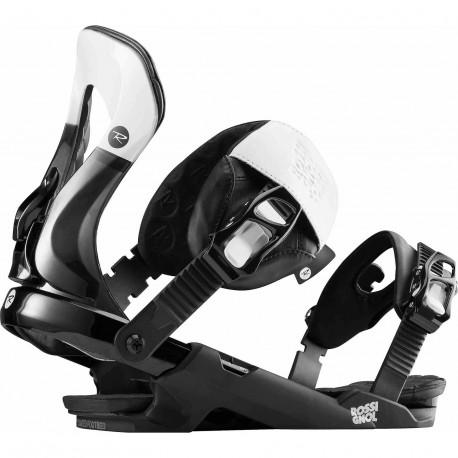 FIXATION DE SNOWBOARD COBRA BLACK