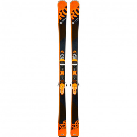 SKI EXPERIENCE 80 HD + FIXATIONS XPRESS 11 B83 BLACK ORANGE