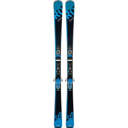 SKI EXPERIENCE 77 BASALT + FIXATIONS XPRESS 11 B83 BLACK BLUE