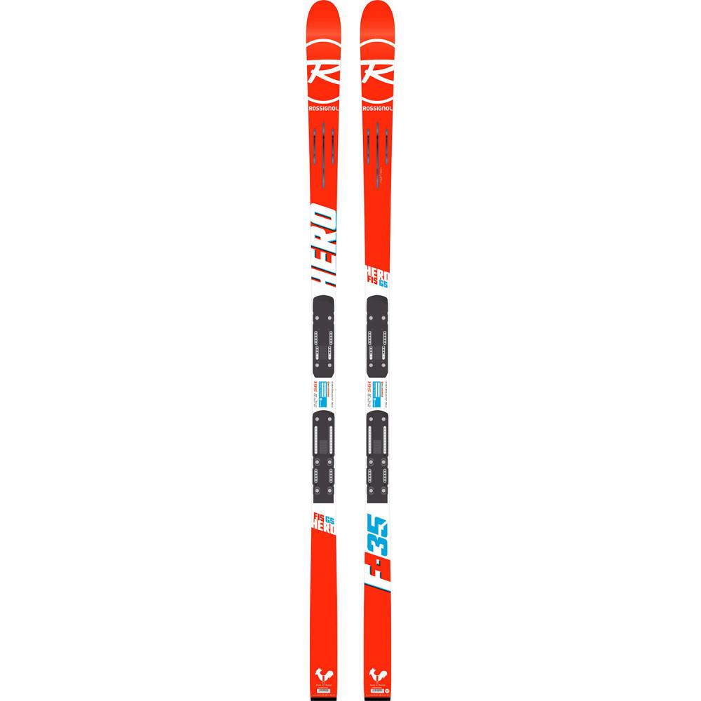 SKI HERO FIS GS (R21 WC) + FIXATION  SPX 12 ROCKERFLEX WHITE ICON