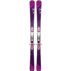 SKI TEMPTATION 75 plus FIXATIONS XPRESS W 10 B83 WHITE PURPLE