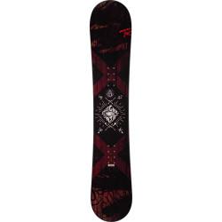 SNOWBOARD CIRCUIT + FIXATIONS BATTLE BLACK M/L