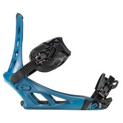 FIXATION DE SNOWBOARD INDY BLUE