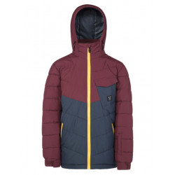 VESTE DE SKI LODGE JR MERLOT