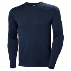 PULL LIFA MERINO CREW EVENING BLUE