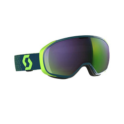 MASQUE DE SKI FIX BLUE/GREEN AMPLIFIER GREEN CHROME