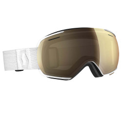 MASQUE DE SKI LINX WHITE LIGHT SENSITIVE BRONZE CHROME
