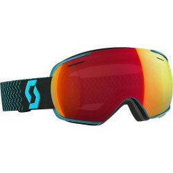 MASQUE DE SKI LINX BLUE AMPLIFIER RED CHROME