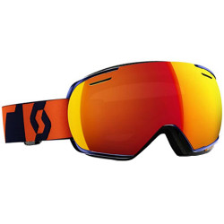 MASQUE DE SKI LINX ORANGE AMPLIFIER RED CHROME